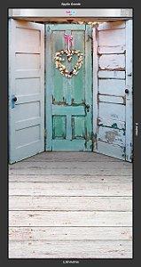 Fundo Fotografico - Romantic Door ( 3 opções para escolher )