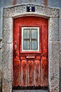 Porta 02 Vermelha (2 x 1,40 metros)