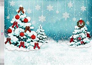Fundo Fotografico - Clima de Natal (2 medidas para escolher)