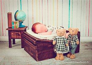 Fundo Fotografico - Listrado Newborn 2 (2 x 1,40 metros)