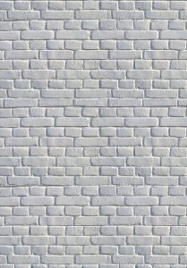 Tijolinho Branco (1,40 x 2,10 metros)