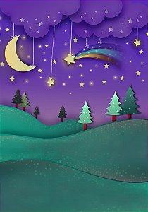 Fundo Fotografico - Baby Night (1,40 x 2 metros)