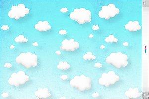 Nuvens 3 horizontal ( 1,40 x 2 metros)