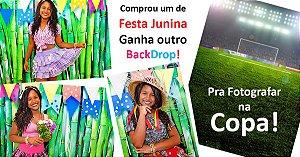 Fundo Fotografico - Bambu Bandeira (1,50 x 2,10 metros)