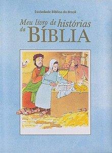 Meu Livro de Histórias da Bíblia - Azul e Rosa
