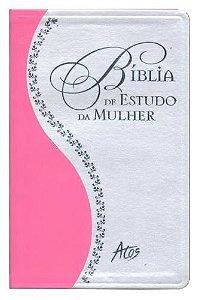 BÍBLIA DE ESTUDO DA MULHER - Rosa - Preta - Azul