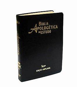 Bíblia Apologética de Estudo - Capa Luxo - Preta
