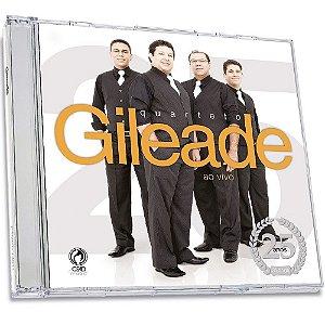 CD Quarteto Gileade Ao Vivo - 25 Anos