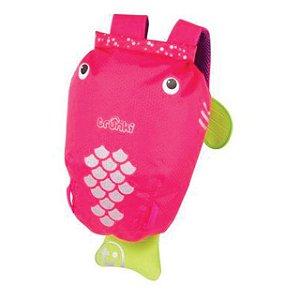 Mochila Infantil Paddlepak Pink Tropical (Rosa) Trunki
