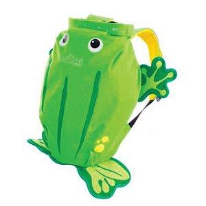 Mochila Infantil Paddlepak Sapo (Verde) Trunki