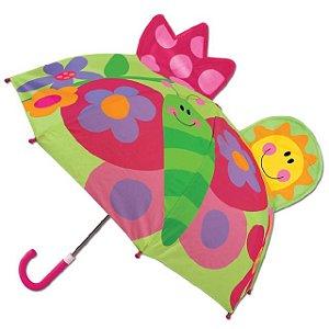 Guarda-chuva infantil 3D Borboleta Stephen Joseph