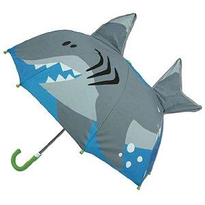 Guarda-chuva infantil 3D Tubarão Stephen Joseph