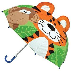 Guarda-chuva infantil 3D Zoo Stephen Joseph