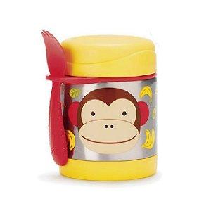 Pote Térmico Zoo Macaco Skip Hop