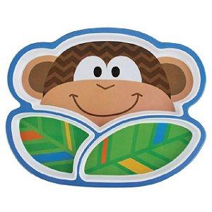 Prato Infantil Macaco Stephen Joseph