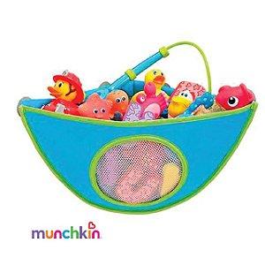 Organizador de Brinquedos para Banheiro Azul Munchkin