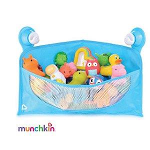 Cesta Organizadora de Brinquedos de Banho - Azul - Munchkin