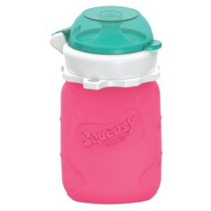 Squeasy Baby 100ml Gear Pink
