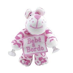 Bebê a Bordo Urso de pelucia