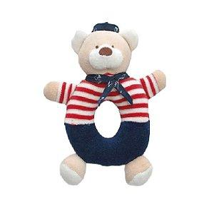 Chocalho Ursinho Marinheiro - Zip Toys
