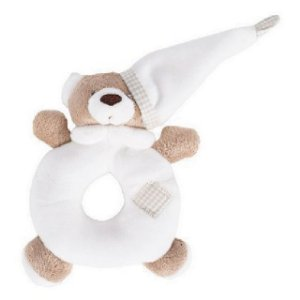 Chocalho Urso Nino Marfim - Zip Toys