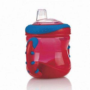 Copo com alça - Nûby - Vermelho
