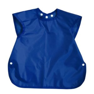 Babador Regata Nylon Impermeavel Botao - Azul Royal - Carina Tomida