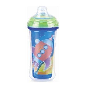 Copo Térmico com bico de silicone e Trava - Espaço - 270 ml – Nuby