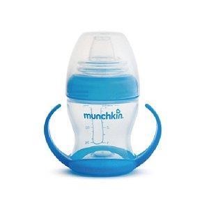 Copo de Transição com Alças  - 120 ml - Azul - Munchkin