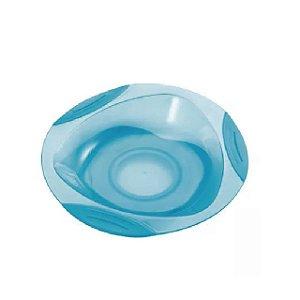 Prato raso com ventosa Funny Meal - Azul - (6m+) – Multikids Baby