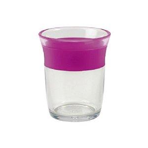 Copo Infantil com plástico transparente Big Kids - Rosa - 150 ml – Oxo Tot