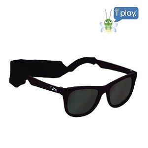 Óculos de Sol Flexível Infantil - Preto - 2-4 anos - Iplay