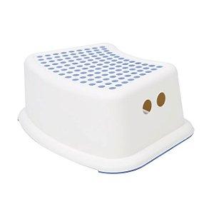 Banquinho para Higiene Azul e Branco  - Girotondo Baby