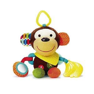 Brinquedo pelúcia de Atividades com Mordedor (Bandana Buddies) Macaco - Skip Hop