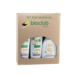 Kit Box Lava Roupas (2 Detergente Líquido Lava Roupas + 1 Tira Manchas) - Bioclub Baby