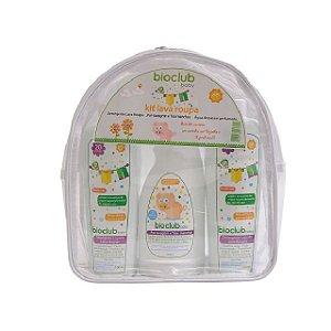 Kit Necessaire Lava Roupas (2 Detergente Líquido Lava Roupas + 1 Tira Manchas) - Bioclub Baby
