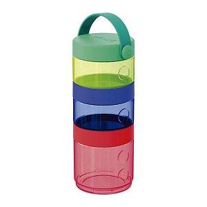 Conjunto 3 Potes Coloridos para Alimentos Tower Skip  - Skip Hop