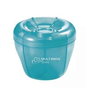 Dosador de Leite em Pó Funny Meal - Azul - Multikids Baby