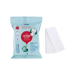 Assoar Baby  - Lenços Umedecidos com Solução Salina - LikLuc
