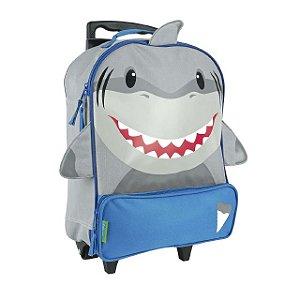 Mochila Infantil Escolar de Rodinha Tubarão - Stephen Joseph