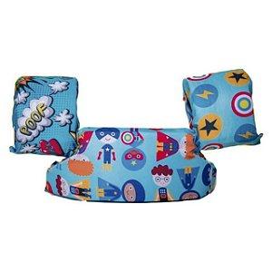 Bóia Colete Infantil Super Heróis - 14 a 25 kg - Panda Pool