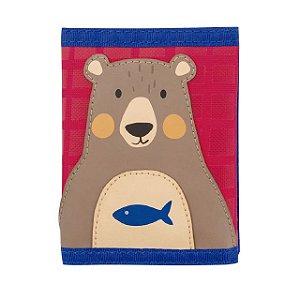 Carteira Infantil Urso Stephen Joseph