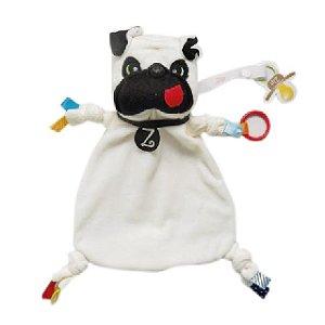Blanket tag - Pug - Zip Toys
