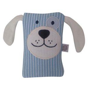 Bolsa Térmica Carinhas - Cachorro Azul - Zip Toys