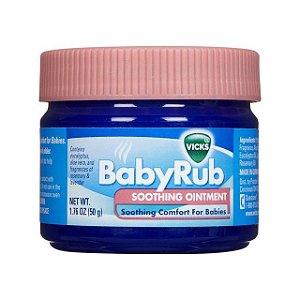 Vick Baby Rub - Pomada Anti Tosse para Bebês - 50g - xx