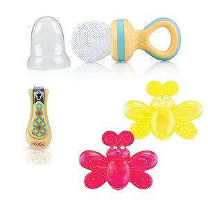 Kit Presente Bebê Amarelo Essencial