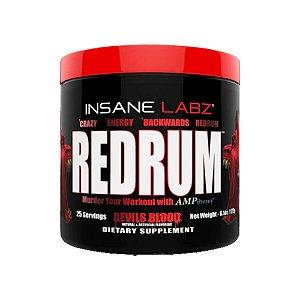 Pré-Treino Redrum 25 doses -  Insane Labz