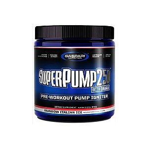 Pré-Treino  SuperPump 250 Dmaa 25 Doses - Gaspari Nutrition