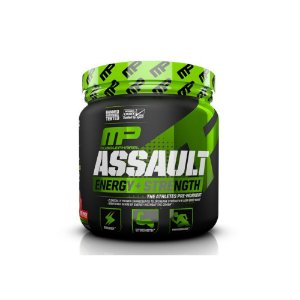 Pré-Treino Assault 30 Doses Novo - Muscle Pharma