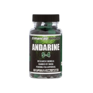 Andarine S4 25mg 60 Caps - Enhanced Athlete
